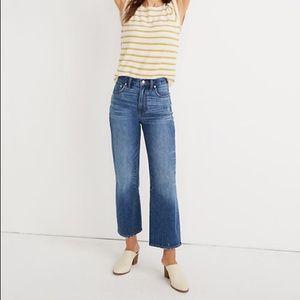 Madewell slim wise-leg jeans